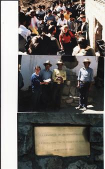 Kleinkraftwerk in Peru